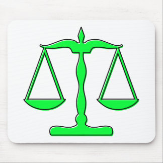 oddRex scales of justice Mouse Pad