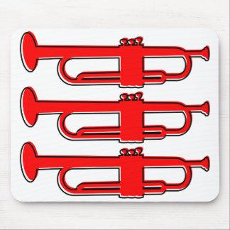 oddRex trumpets Mouse Pad