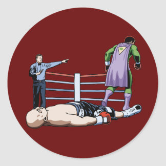 Odds-On Favorite Classic Round Sticker