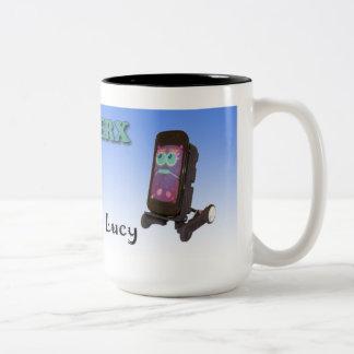 Oddwerx Ike y taza de Lucy