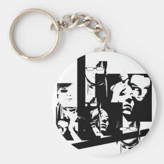 Oddyssey Basic Round Button Keychain