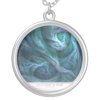 Oddyssy en collar azul
