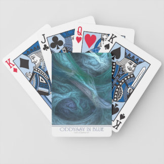 Oddyssy In Blue Playing Cards