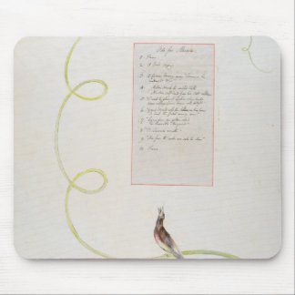 'Ode for Music' design 94 from 'The Poems of Thoma Mouse Pad