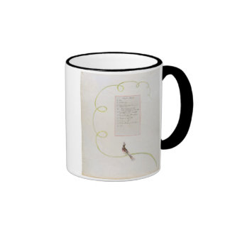 'Ode for Music' design 94 from 'The Poems of Thoma Coffee Mug