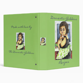 Ode to A Domestic Goddess Recipe Binder