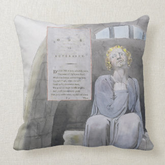 Ode to Adversity, design 37 from 'The Poems of Tho Throw Pillow