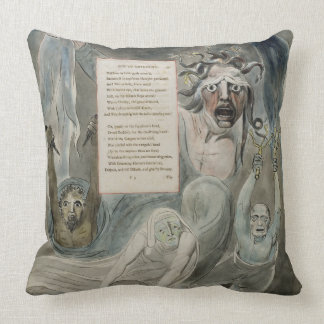 Ode to Adversity, from 'The Poems of Thomas Gray', Throw Pillow
