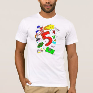 Ode to Five Adult American Apparel T-Shirt