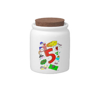 Ode to Five Candy Jar