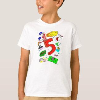 Ode to Five Kids Basic T-Shirt