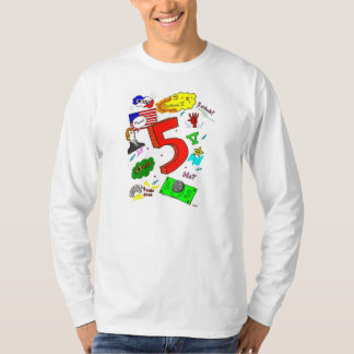 Ode to Five Mens Long-Sleeve T-Shirt