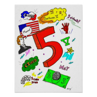 Ode to Five Poster