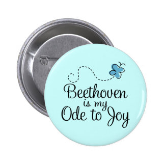 Ode To Joy Beethoven Button