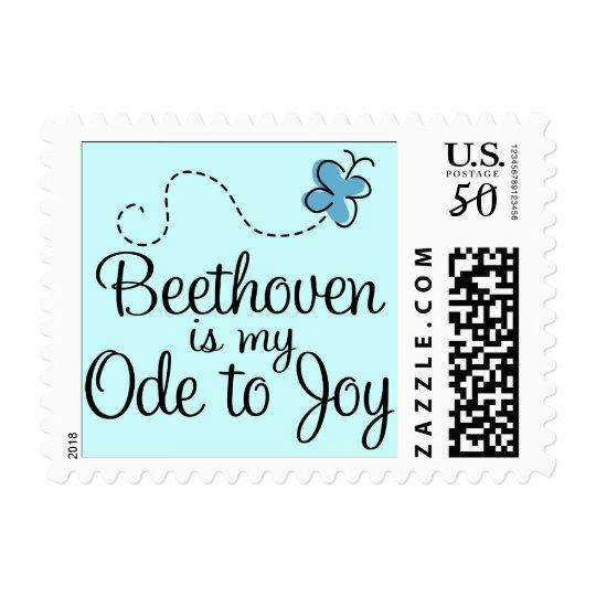 Ode To Joy Beethoven Postage
