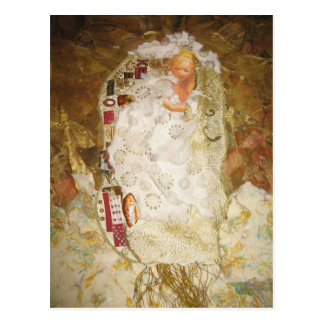 Ode To Klimt by Gustav Klimt Postcard