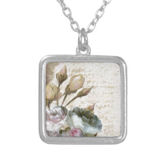 Ode to Love Silver Plated Necklace