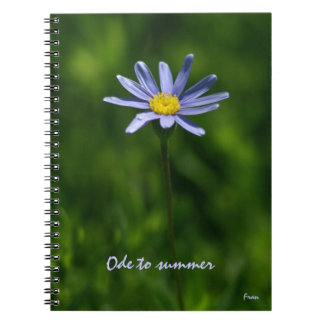 ode to summer notebook