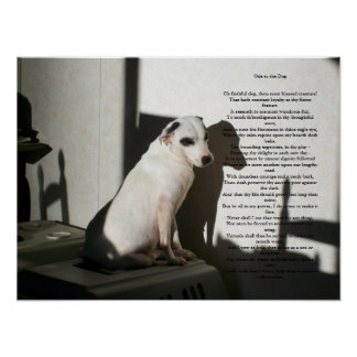 Ode To The Dog Poster