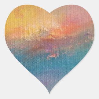 Ode to Turner Heart Sticker