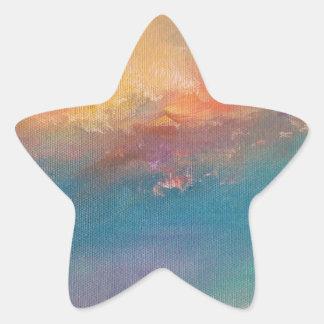 Ode to Turner Star Sticker