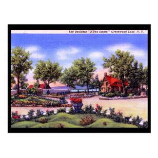 O'Dea Estate, Greenwood Lake, NY Vintage Postcard