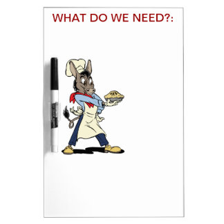 Odee Dickens Classic Cartoon | Bakers Whiteboard Dry-Erase Whiteboard