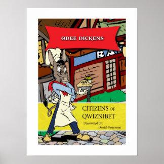 Odee Dickens | Classic Cartoon Poster