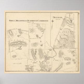 Odell, Millsfield, Dummer, Cambridge Póster