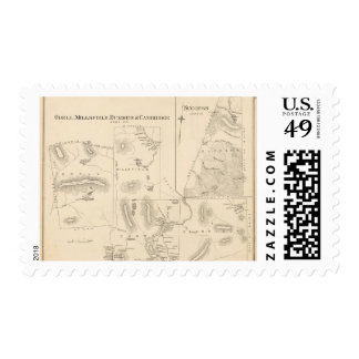 Odell, Millsfield, Dummer, Cambridge Timbres Postales