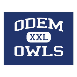 Odem - Owls - Odem High School - Odem Texas Postcard