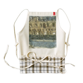 Odeon of Herodes Atticus in Athens Zazzle HEART Apron