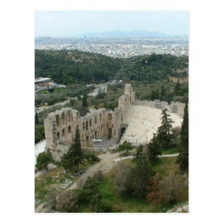 Odeon of Herodes Postcard