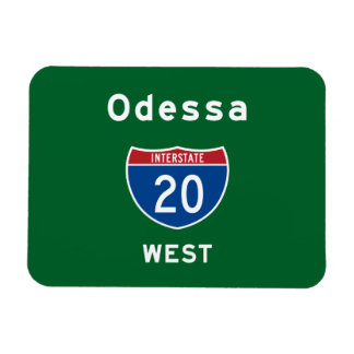 Odessa 20 iman rectangular