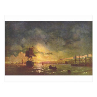 Odessa at night by Ivan Aivazovsky Postcard