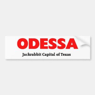 Odessa, Texas Bumper Sticker