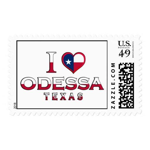 Odessa, Texas Postage