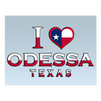 Odessa, Texas Postcard