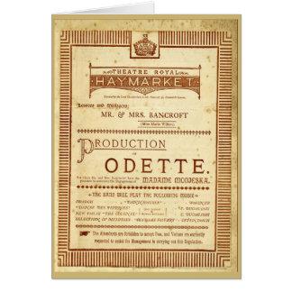 Odette Card