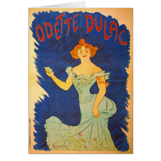 Odette Dulac 1903 Card