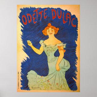 Odette Dulac 1903 Póster