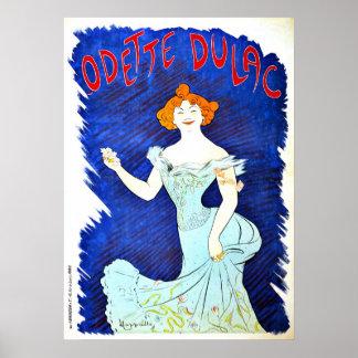 Odette Dulac de Leonetto Cappiello del vintage Impresiones