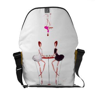 Odette lindo Odile y bolso rosado de las bailarina Bolsa De Mensajería