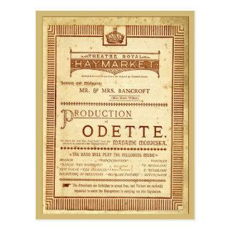 Odette Postcard
