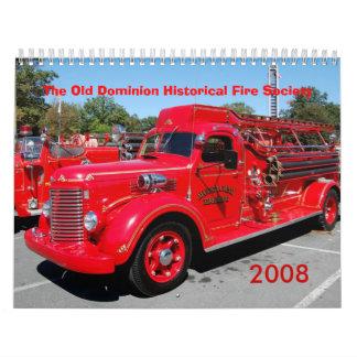 ODHFS 2008 - Sola imagen por mes Calendario De Pared
