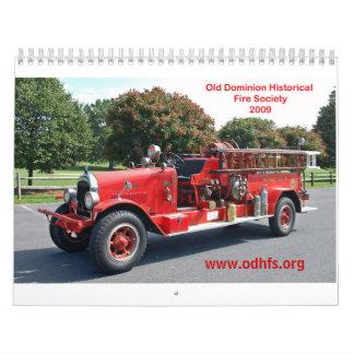 ODHFS 2009 - Sola imagen por mes Calendarios De Pared