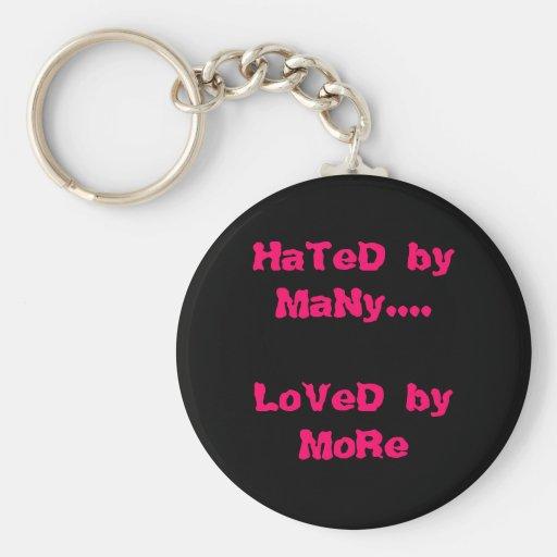Odiado por muchos….Amado por más Llaveros