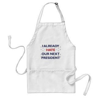 Odie nuestro presidente siguiente delantal