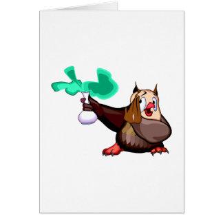 Odie Owl Card