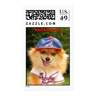 Odie the Braves Fan Stamp